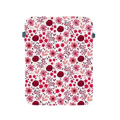Red Floral Seamless Pattern Apple Ipad 2/3/4 Protective Soft Cases by TastefulDesigns