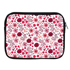 Red Floral Seamless Pattern Apple Ipad 2/3/4 Zipper Cases by TastefulDesigns