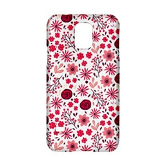 Red Floral Seamless Pattern Samsung Galaxy S5 Hardshell Case  by TastefulDesigns
