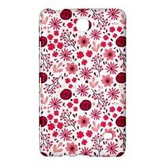 Red Floral Seamless Pattern Samsung Galaxy Tab 4 (8 ) Hardshell Case  by TastefulDesigns