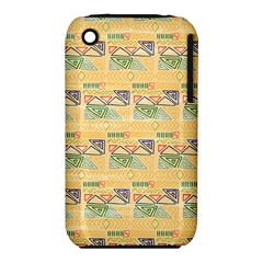 Hand Drawn Ethinc Pattern Background Iphone 3s/3gs by TastefulDesigns