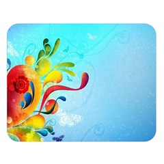 Patterns Multicolored Colorful 11348 3840x2400 Double Sided Flano Blanket (large) by amphoto