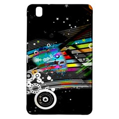 Patterns Circles Lines Stripes Colorful Rainbow 20251 3840x2400 Samsung Galaxy Tab Pro 8 4 Hardshell Case by amphoto