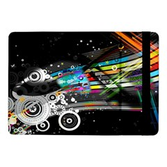Patterns Circles Lines Stripes Colorful Rainbow 20251 3840x2400 Samsung Galaxy Tab Pro 10 1  Flip Case by amphoto