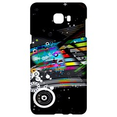 Patterns Circles Lines Stripes Colorful Rainbow 20251 3840x2400 Samsung C9 Pro Hardshell Case  by amphoto