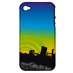 Youth Style Drive Vector 11397 3840x2400 Apple Iphone 4/4s Hardshell Case (pc+silicone) by amphoto