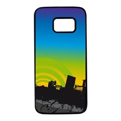 Youth Style Drive Vector 11397 3840x2400 Samsung Galaxy S7 Black Seamless Case