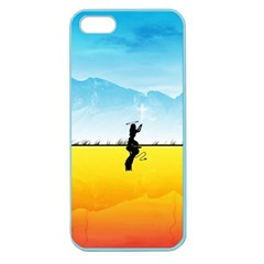 Worlds Angels Demons Contradictions  Apple Seamless Iphone 5 Case (color) by amphoto