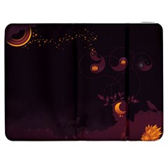 Wolf Night Alone Dark 11349 3840x2400 Samsung Galaxy Tab 7  P1000 Flip Case by amphoto