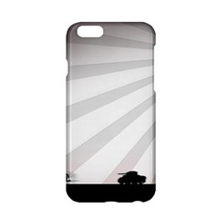 Shooting Tank Person Tree Sun  Apple Iphone 6/6s Hardshell Case by amphoto
