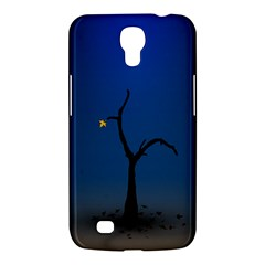 Tree Lonely Blue Orange Dark  Samsung Galaxy Mega 6 3  I9200 Hardshell Case by amphoto