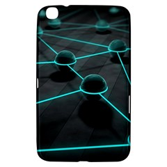 3d Balls Rendering Lines  Samsung Galaxy Tab 3 (8 ) T3100 Hardshell Case  by amphoto