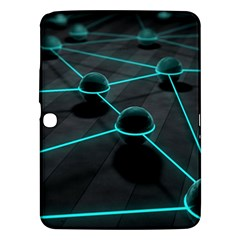 3d Balls Rendering Lines  Samsung Galaxy Tab 3 (10 1 ) P5200 Hardshell Case  by amphoto