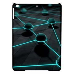 3d Balls Rendering Lines  Ipad Air Hardshell Cases by amphoto