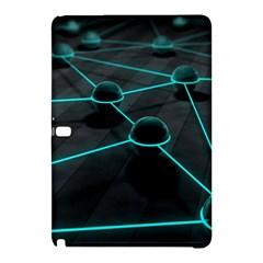 3d Balls Rendering Lines  Samsung Galaxy Tab Pro 12 2 Hardshell Case