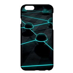 3d Balls Rendering Lines  Apple Iphone 6 Plus/6s Plus Hardshell Case by amphoto
