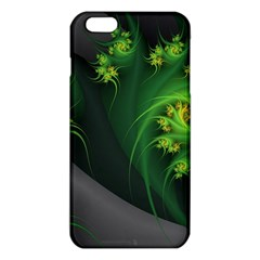 Abstraction Embrace Fractal Flowers Gray Green Plant  Iphone 6 Plus/6s Plus Tpu Case by amphoto