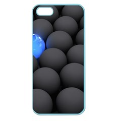Balls Dark Neon Light Surface  Apple Seamless Iphone 5 Case (color) by amphoto