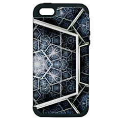 Form Glass Mosaic Pattern 47602 3840x2400 Apple Iphone 5 Hardshell Case (pc+silicone) by amphoto