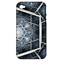 Form Glass Mosaic Pattern 47602 3840x2400 Apple Iphone 4/4s Hardshell Case (pc+silicone) by amphoto