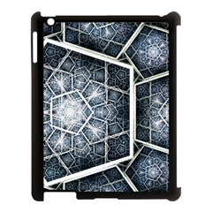 Form Glass Mosaic Pattern 47602 3840x2400 Apple Ipad 3/4 Case (black) by amphoto