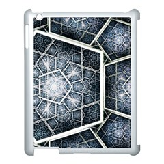 Form Glass Mosaic Pattern 47602 3840x2400 Apple Ipad 3/4 Case (white) by amphoto