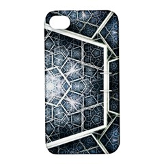 Form Glass Mosaic Pattern 47602 3840x2400 Apple Iphone 4/4s Hardshell Case With Stand by amphoto