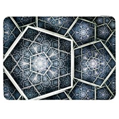 Form Glass Mosaic Pattern 47602 3840x2400 Samsung Galaxy Tab 7  P1000 Flip Case by amphoto