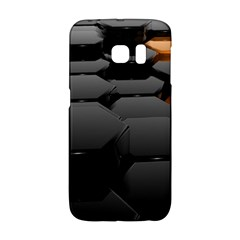 Orange Black Galaxy S6 Edge by amphoto