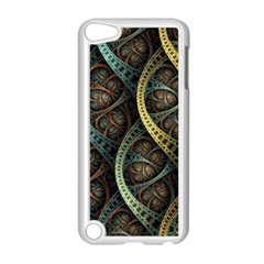 Line Semi Circle Background Patterns 82323 3840x2400 Apple Ipod Touch 5 Case (white) by amphoto
