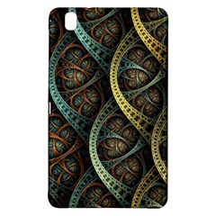 Line Semi Circle Background Patterns 82323 3840x2400 Samsung Galaxy Tab Pro 8 4 Hardshell Case by amphoto