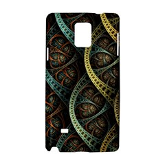 Line Semi Circle Background Patterns 82323 3840x2400 Samsung Galaxy Note 4 Hardshell Case by amphoto