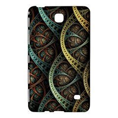 Line Semi Circle Background Patterns 82323 3840x2400 Samsung Galaxy Tab 4 (8 ) Hardshell Case  by amphoto