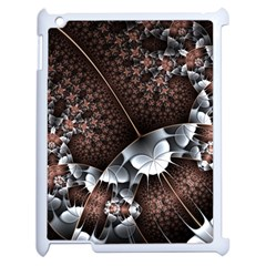 Lines Background Light Dark 81522 3840x2400 Apple Ipad 2 Case (white) by amphoto