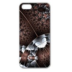 Lines Background Light Dark 81522 3840x2400 Apple Seamless Iphone 5 Case (clear) by amphoto