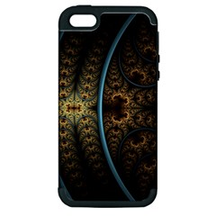 Lines Dark Patterns Background Spots 82314 3840x2400 Apple Iphone 5 Hardshell Case (pc+silicone) by amphoto