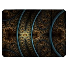 Lines Dark Patterns Background Spots 82314 3840x2400 Samsung Galaxy Tab 7  P1000 Flip Case by amphoto