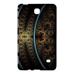 Lines Dark Patterns Background Spots 82314 3840x2400 Samsung Galaxy Tab 4 (8 ) Hardshell Case  by amphoto