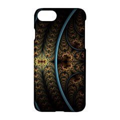 Lines Dark Patterns Background Spots 82314 3840x2400 Apple Iphone 7 Hardshell Case by amphoto