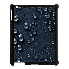 Surface Texture Drops Moisture 18094 3840x2400 Apple Ipad 3/4 Case (black) by amphoto