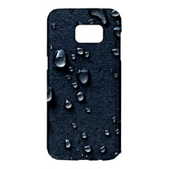 Surface Texture Drops Moisture 18094 3840x2400 Samsung Galaxy S7 Edge Hardshell Case by amphoto