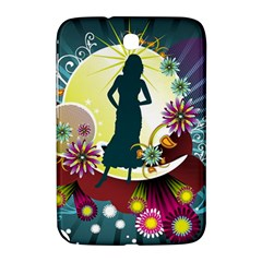 Abstraction Vector Heavens Woman Flowers  Samsung Galaxy Note 8 0 N5100 Hardshell Case  by amphoto