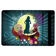 Abstraction Vector Heavens Woman Flowers  Ipad Air 2 Flip by amphoto