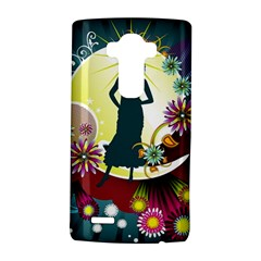 Abstraction Vector Heavens Woman Flowers  Lg G4 Hardshell Case by amphoto