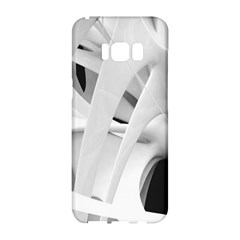 Abstract Art 4k Resolution Wallpaper  Samsung Galaxy S8 Hardshell Case  by amphoto