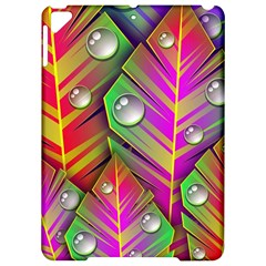 Leaves Dew Art Bright Lines Patterns  Apple Ipad Pro 9 7   Hardshell Case by amphoto