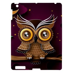 Owl Bird Art Branch 97204 3840x2400 Apple Ipad 3/4 Hardshell Case by amphoto