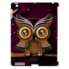 Owl Bird Art Branch 97204 3840x2400 Apple Ipad 3/4 Hardshell Case (compatible With Smart Cover) by amphoto