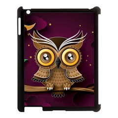 Owl Bird Art Branch 97204 3840x2400 Apple Ipad 3/4 Case (black) by amphoto
