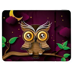 Owl Bird Art Branch 97204 3840x2400 Samsung Galaxy Tab 7  P1000 Flip Case by amphoto